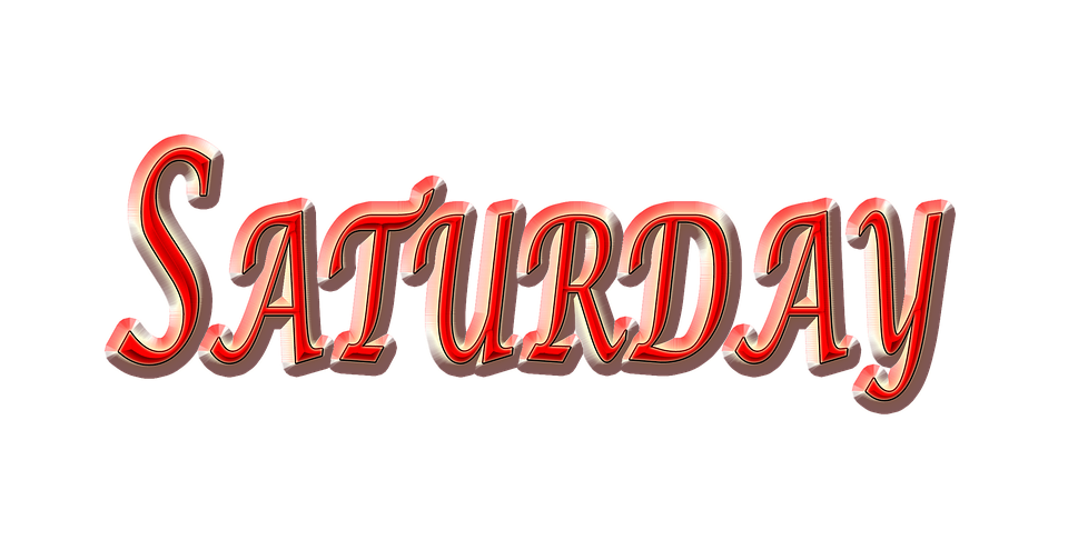 saturday red weekday free image on pixabay