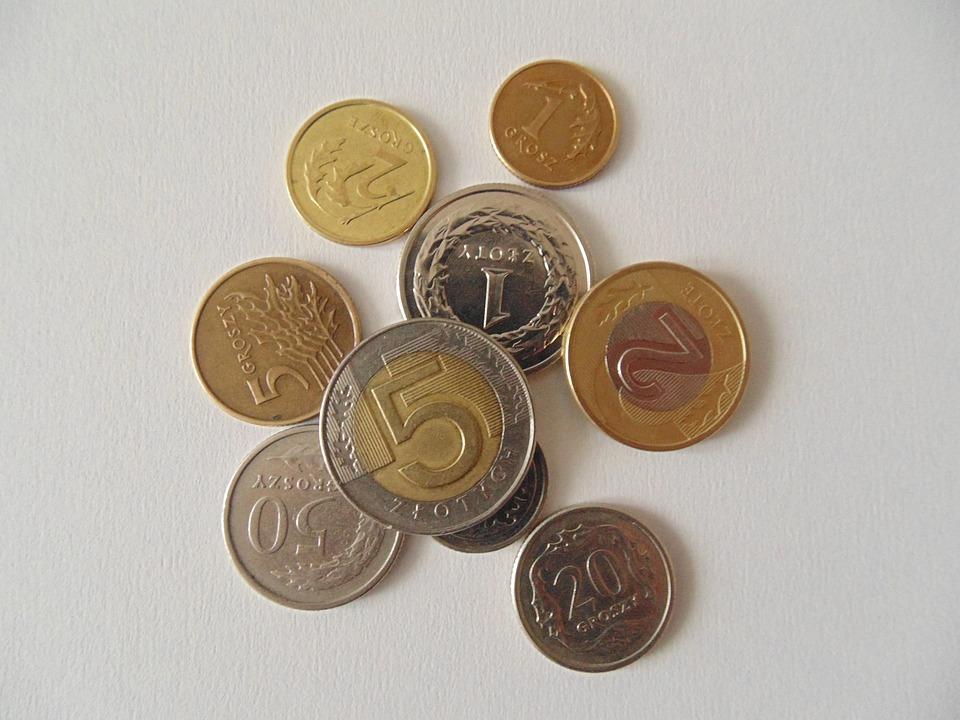 Münzen Polnisch Währung Kostenloses Foto Auf Pixabay