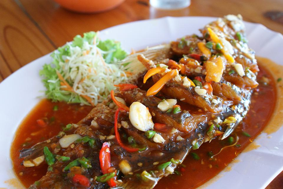 Free photo thai food fish in chili free image on for About thai cuisine