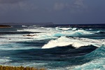 storm, ocean, wave