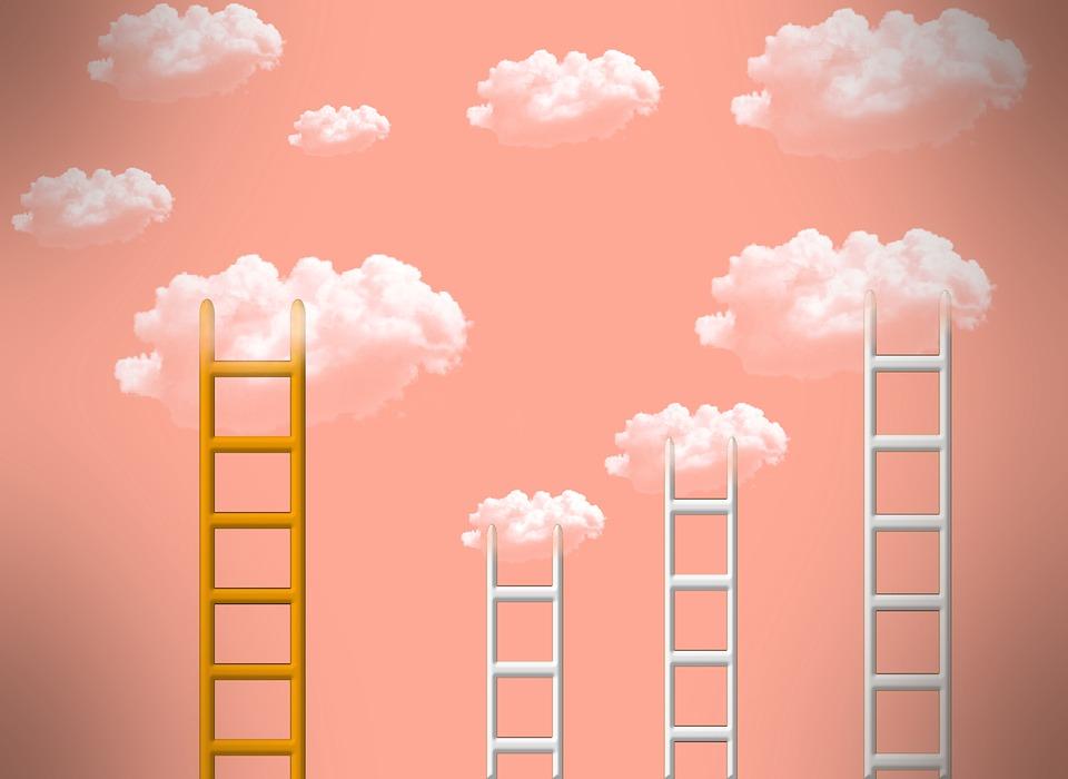 Head, Success, Successful, Clouds, Together, Team
