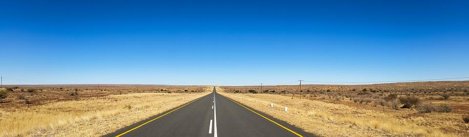 Afrique, Namibie, Désert, Kalahari, Paysage, Steppe