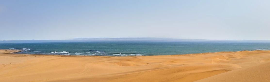 Punta Gallinas, Mar, Medanos, Arena, Playa