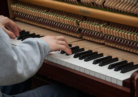 Piano, Musician, Artist, Music, Piano