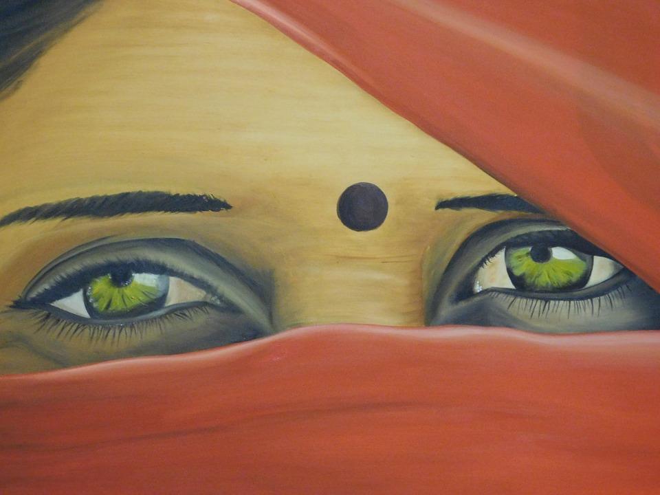 El Marco Mirada Mujer · Imagen gratis en Pixabay