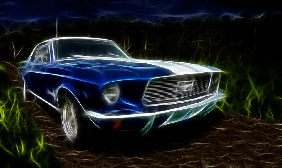 Kostenlose Illustration Ford Mustang Ford Auto 1967