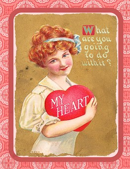 Valentine, Vintage, Love, Heart, Box,124 Free images of Chocolate Day Related Images: Chocolate Love Heart  Valentine's Day  Candy  Hot Chocolate  Romantic  Romance  Valentine  Sweet