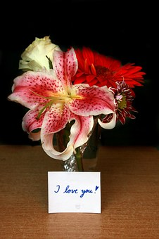 Flowers Message I Love You