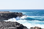 sea, wave, cape verde