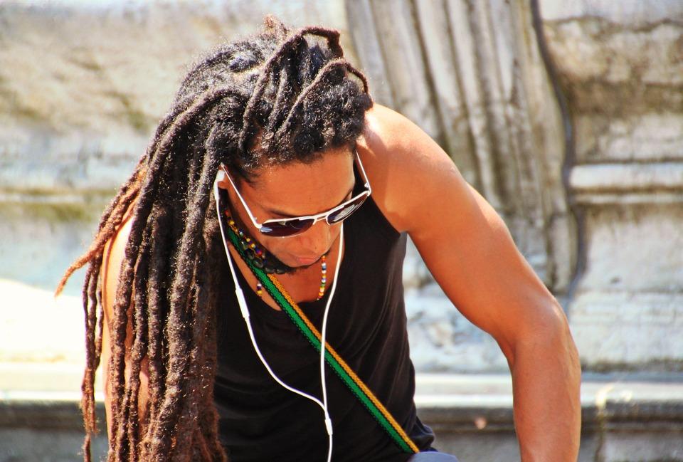 Préférence Photo gratuite: L'Homme, Tresses Rasta, Coiffure - Image gratuite  LD87