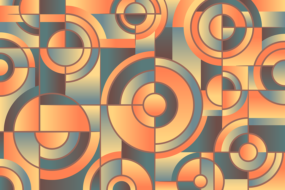 72 Gambar Abstrak Warna Orange Kekinian