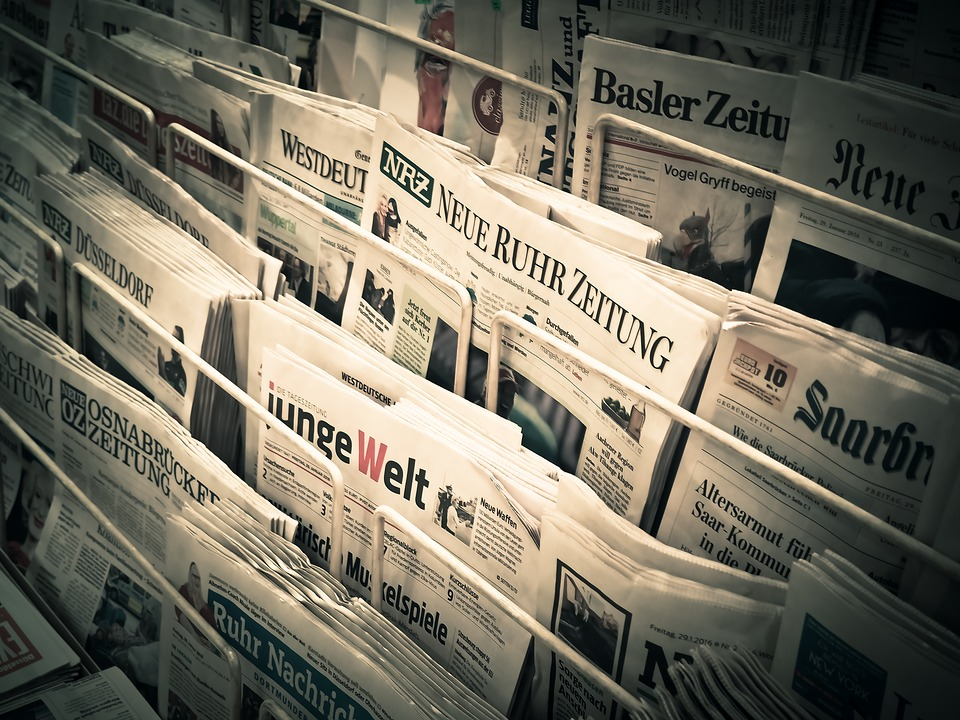 Free Photo News Daily Newspaper Press  Free Image On Pixabay