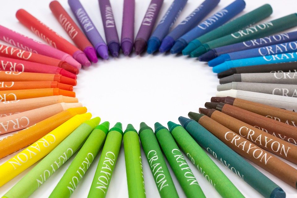 Crayon Colored Circle : Chalk colored pencils colour · free photo on pixabay