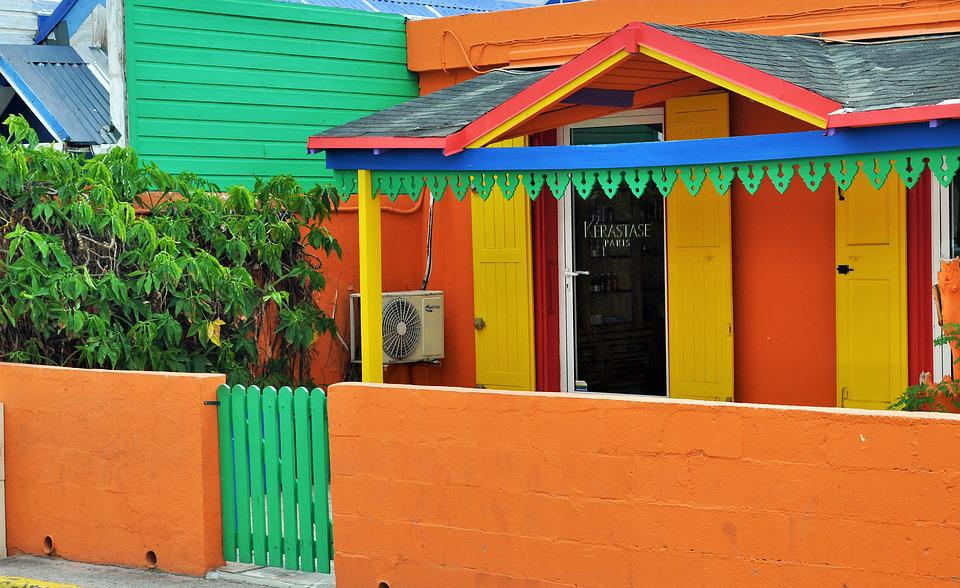 Free Photo Colors Colorful House Houses Free Image On