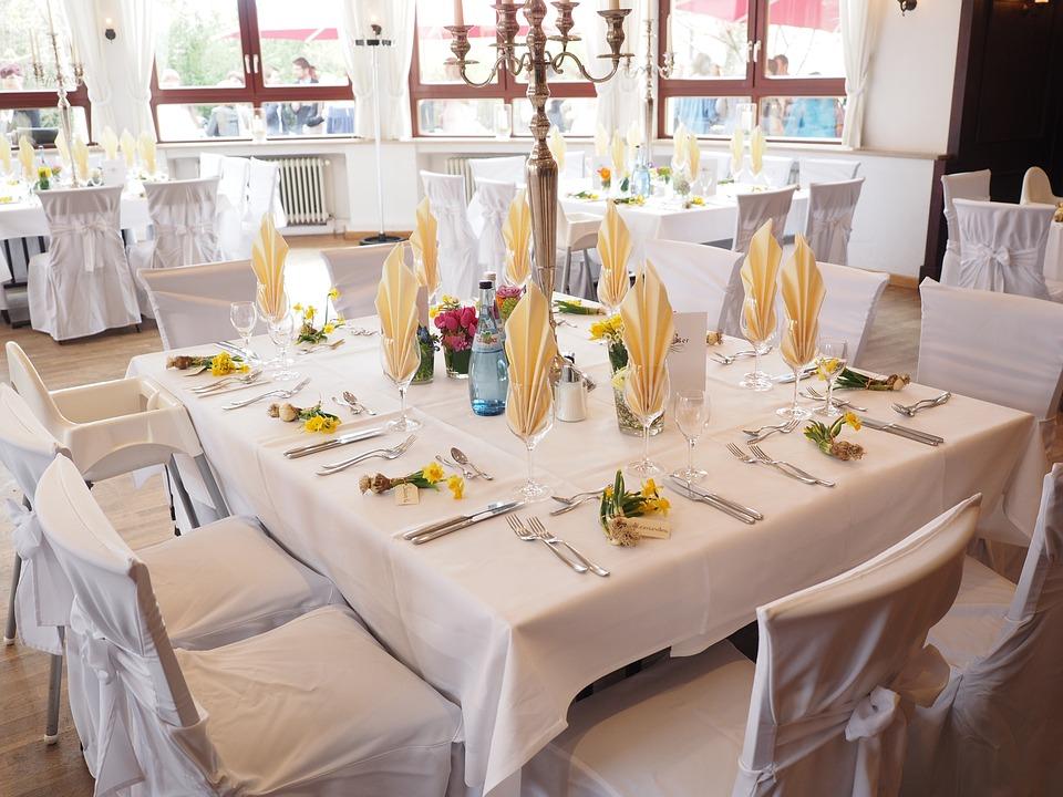 free photo wedding table ballroom hall free image on. Black Bedroom Furniture Sets. Home Design Ideas
