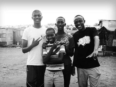 Kliptown, Soweto, South Africa, African
