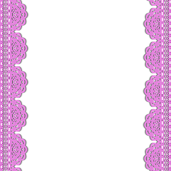 Lace Pink Stripe Clip Art Lace Lace L