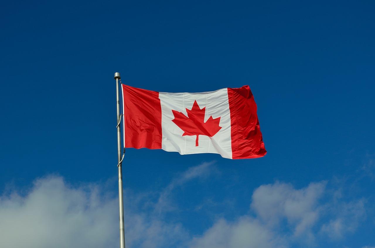 Связи, картинки канада флаг