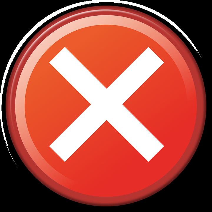 cancel deny website free image on pixabay