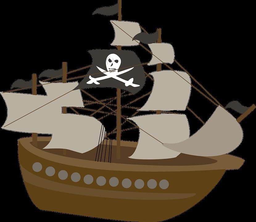 Pirate ship kids free image on pixabay - Image bateau pirate ...