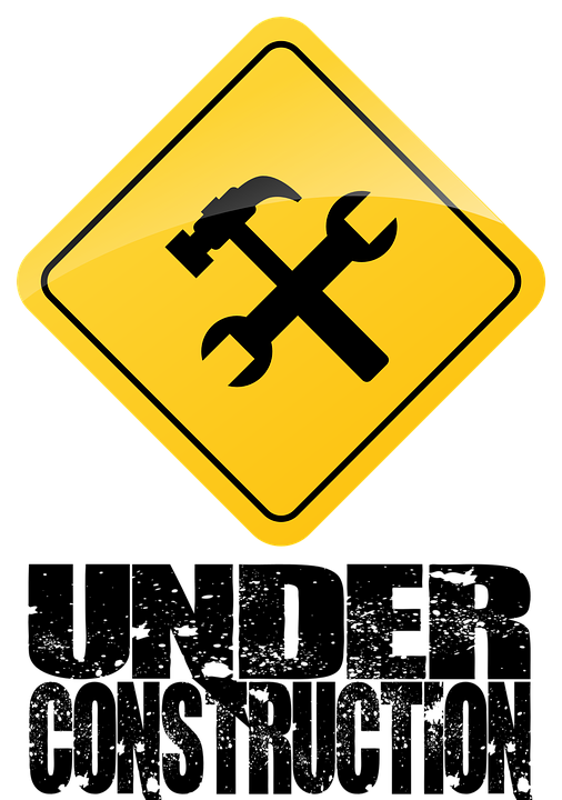 free illustration construction safety site banner