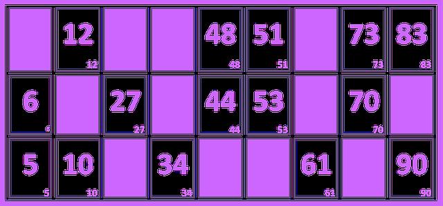 Illustration gratuite loto grille num ro carton image gratuite sur pixabay 1174877 - Grille de bingo a imprimer gratuit ...