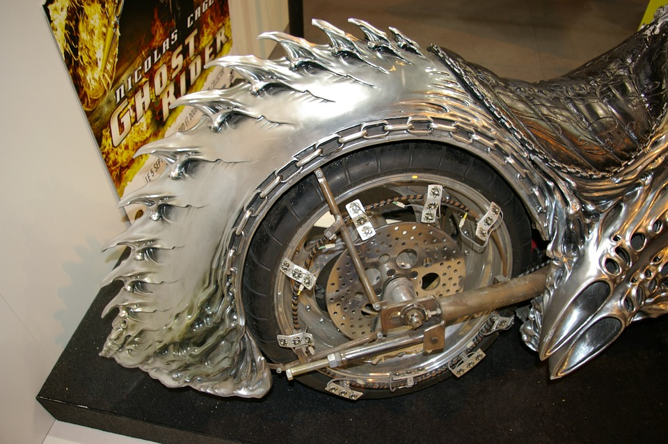 Ghost Rider Motorcycle Rear Wheel 183 Free Photo On Pixabay