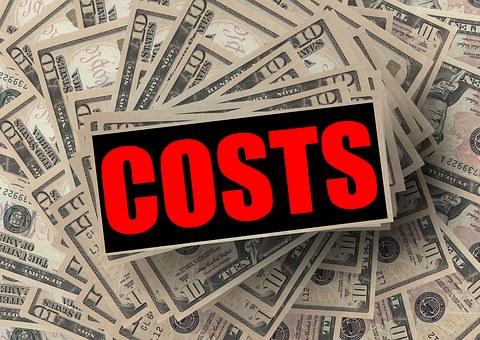 コスト, Dollar, 金融, お金, ビジネス, 誤算, 紙幣, 紙のお金