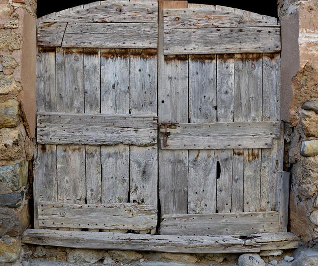 Free Photo Old Door Barn Old Wood Free Image On