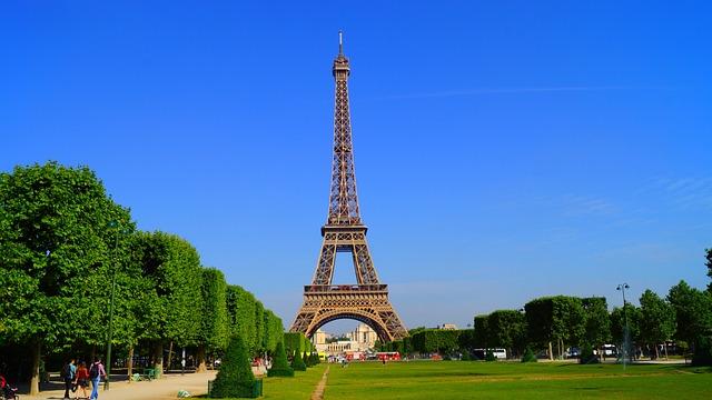 Free Photo: Paris, France, Eiffel, Eiffel Tower