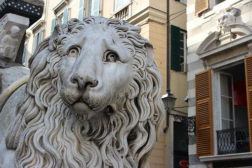 Génova, Itália, Ligúria, Leo, Mármore