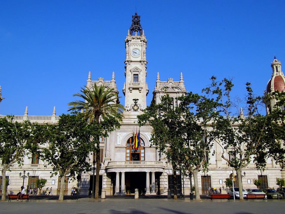 Valencia, España, Plza Del Ayuntamiento