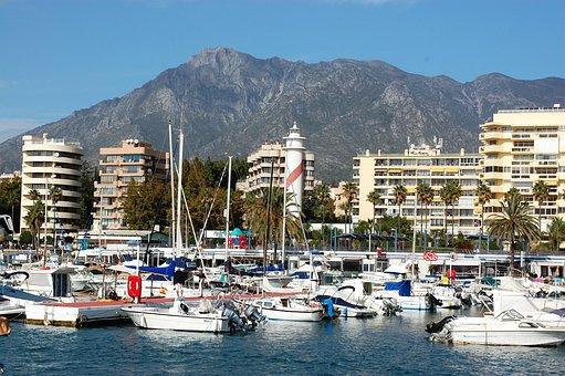 Vista del Puerto Marbella