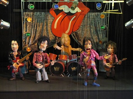 Augsburg Puppet Theatre Rolling Stones Dyi