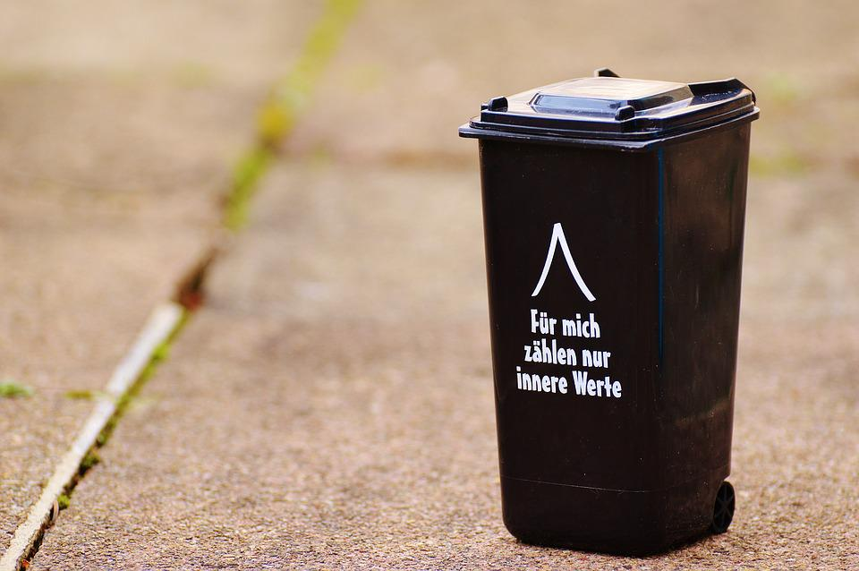 Free Photo Dustbin Funny Saying Garbage Can Free