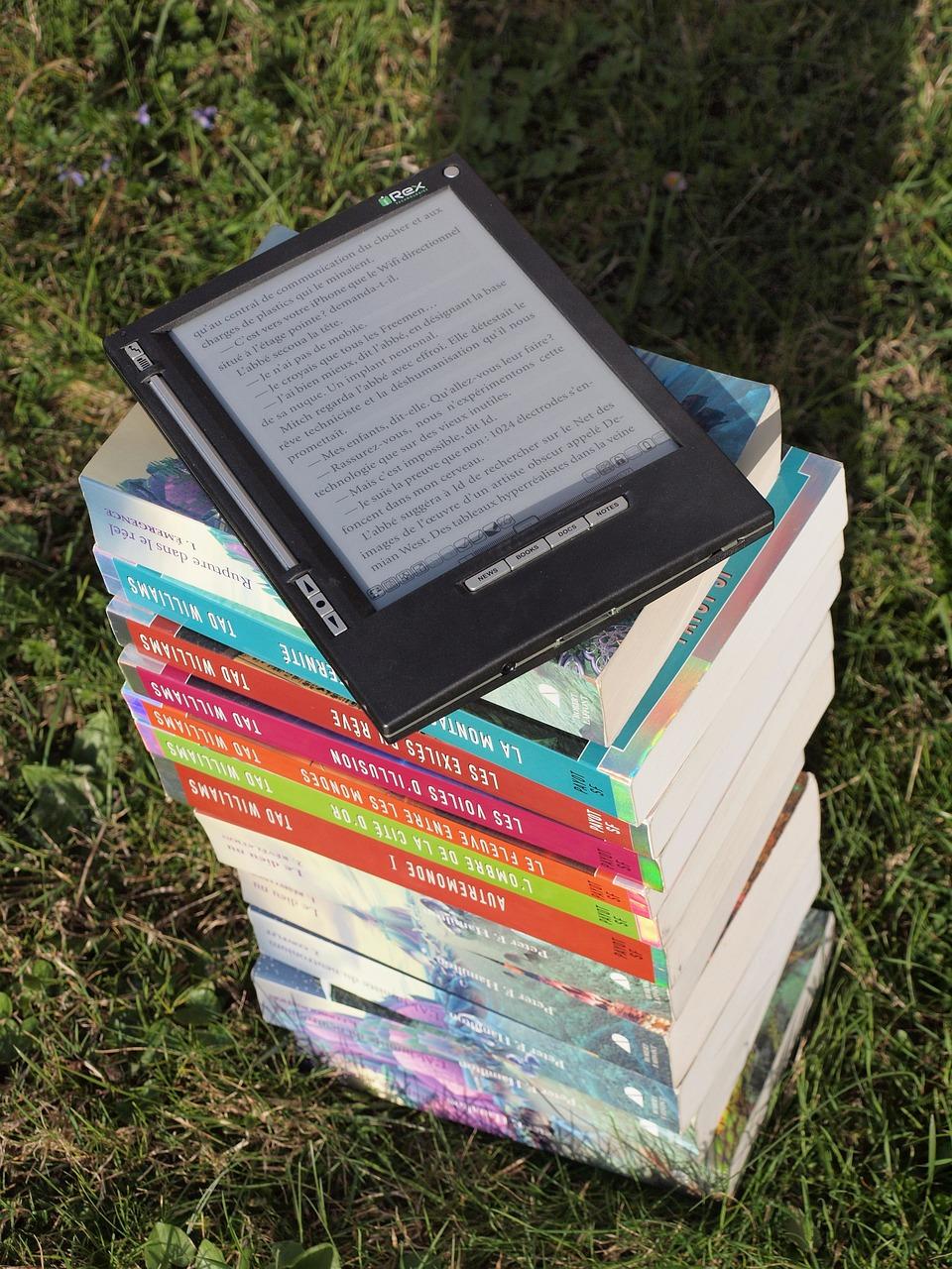 Books, Reading Relaxation, Irex, Iliad, E Book