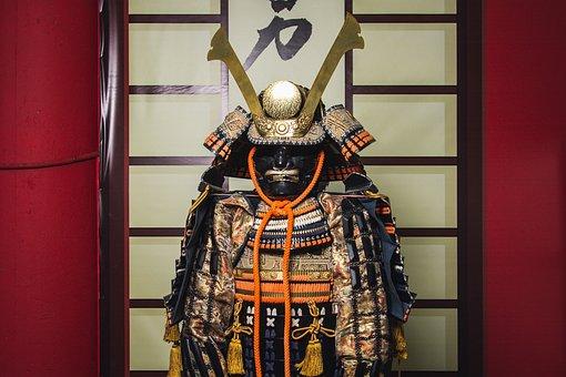 Samurai, Armor, Warrior, Japan, Samurai
