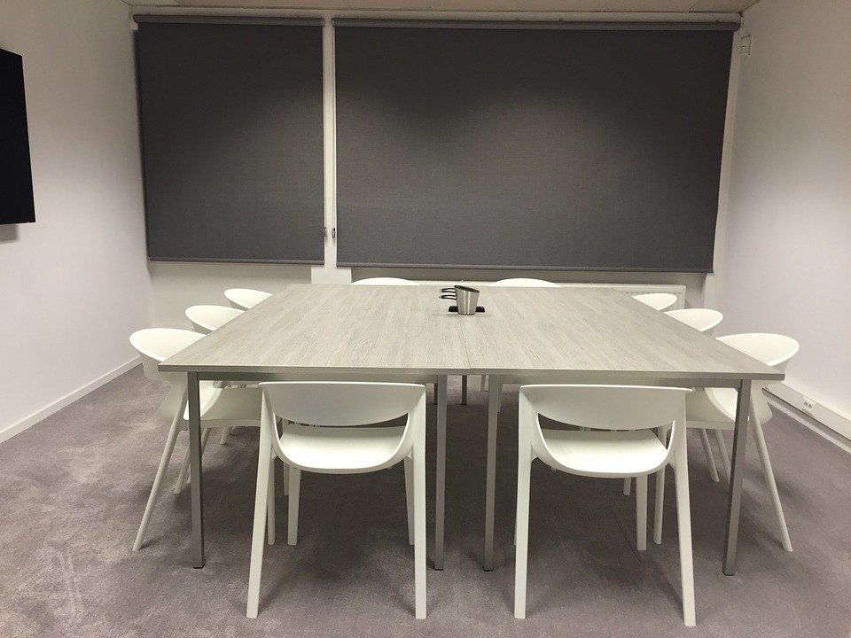 Meeting room blinds table chairsFree photo  Meeting  Room  Blinds  Table   Free Image on Pixabay  . Meeting Room Table And Chairs. Home Design Ideas