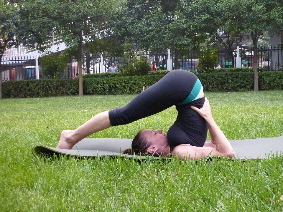 Young Woman, Yoga, Fitness, Asana, Posture, Hatha Yoga
