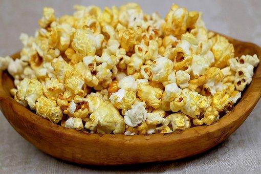 Popcorn Corn Sweet Knabberzeug Delici