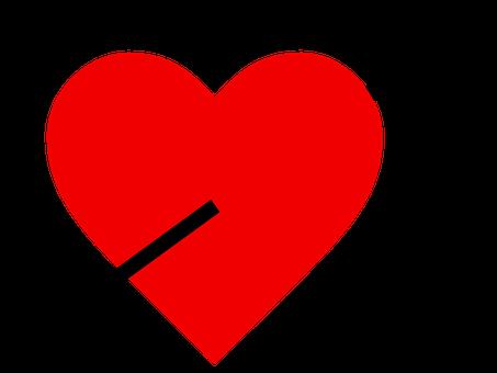 Herz, Pfeil, Liebe, Valentine