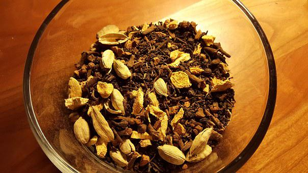 Chai, Tea, Spices, Cloves, Cardamom
