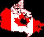 flag, canada