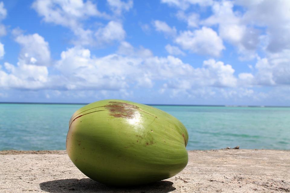 De Coco, Guam, Cielo, Océano, El Agua, Mar, Verano