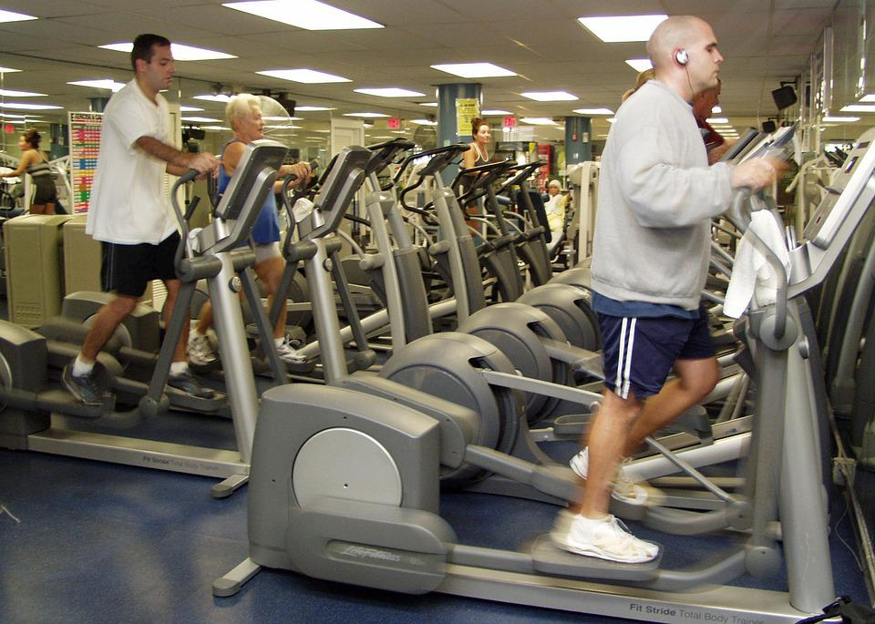 Gym Room, Fitness, Elliptical Bike, Cardio Training