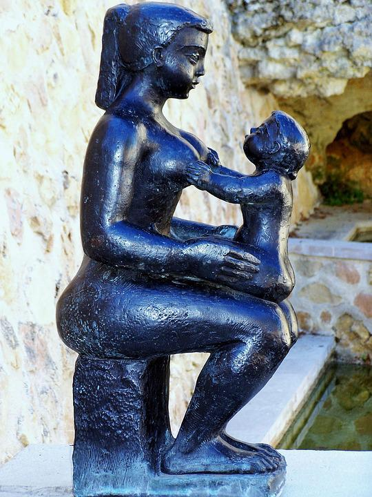 Zwangerschaps Stoel, Volti, Vrouw, Kind, Liefde, Moeder