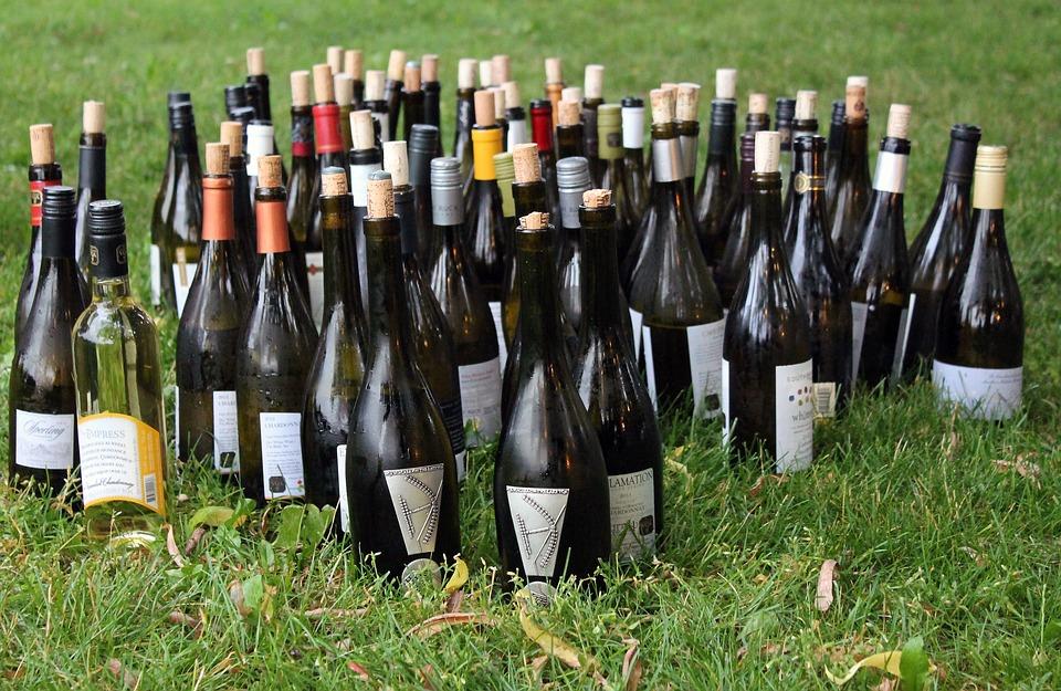 wine bottles free photo on pixabay