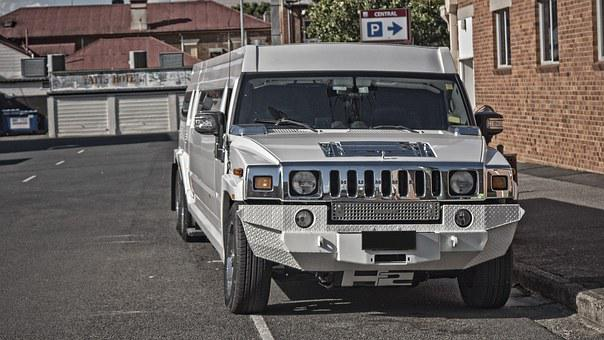 Hummer, Car, Stretch, Limo, Urban