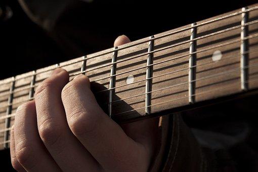 ギター, 音楽, 石, 楽器, ギター奏者, ストリートミュージシャン