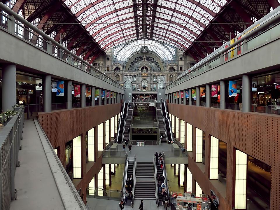 Diseño actual de la estación de Amberes